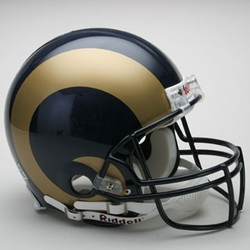 ST LOUIS RAMS SPORTS DECOR