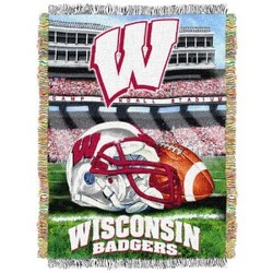 WISCONSIN BADGERS ACRYLIC TAPESTRY