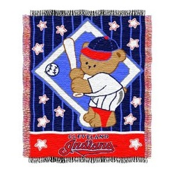 Cleveland Indians Bedding Baby Throw