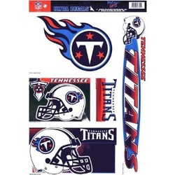 NFL TENNESSEE TITANS WALL DECALS