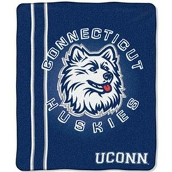 University of Connecticut Throw Rug or Blanket